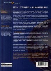 Manager Rh Des Concepts Pour Agir - 4ème de couverture - Format classique