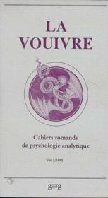 Vouivre Vol 3 1992 Cahiers De Psychologie A - Couverture - Format classique
