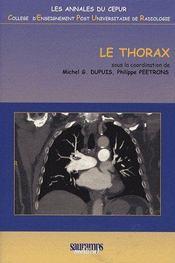 Le thorax - Couverture - Format classique