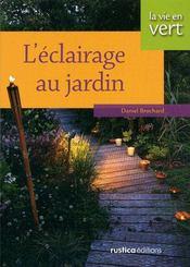 Eclairage Au Jardin - Couverture - Format classique