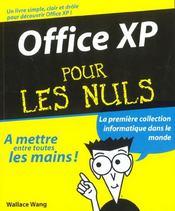 Office Xp Pour Les Nuls - Intérieur - Format classique