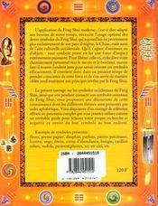 Les Symboles Pour Le Feng Shui Occidental - 4ème de couverture - Format classique