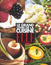 Le Grand Livre De La Cuisine Elle ; 2000 Recettes - Intérieur - Format classique