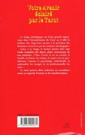 Votre Avenir Eclaire Par Le Tarot - 4ème de couverture - Format classique