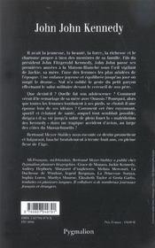 John-John Kennedy - 4ème de couverture - Format classique
