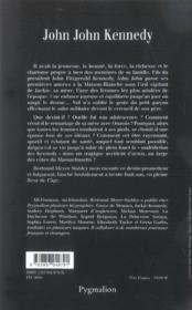 John John Kennedy - 4ème de couverture - Format classique