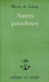 Autres Paradoxes Sr6 - Couverture - Format classique