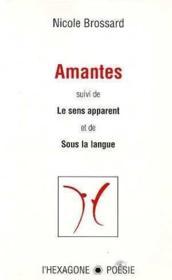 Amantes Le Sens Apparent Sous La Langue - Couverture - Format classique