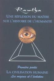 Reflexion Du Maitre Sur Histoire Humanite - Intérieur - Format classique