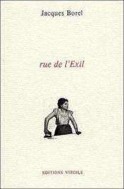 Rue de l'exil - Couverture - Format classique