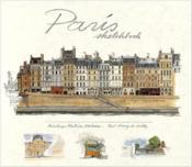 Paris Sketchbook (Ed. Didier Millet) /Anglais - Couverture - Format classique
