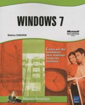 Vente livre :  Windows 7  - Beatrice Daburon
