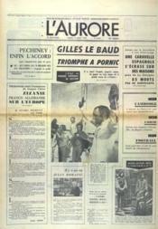Aurore (L') N°9005 du 14/08/1973 - Couverture - Format classique