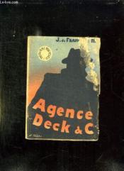 L Agence Deck Et Cie. - Couverture - Format classique