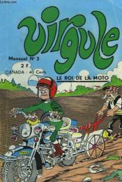 Virgule, Mensuel N°3. Le Roi De La Moto. - Couverture - Format classique