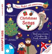 Vente  I learn English with Harrap's kids ! ; Christmas songs  - Collectif