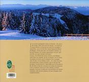 Les bauges, chemins de vie - 4ème de couverture - Format classique