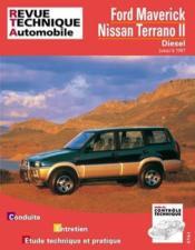 Rta 586.1 Ford Maverick/Nissan Terrano Ii Diesel - Couverture - Format classique