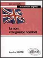 Le Nom Et Le Groupe Nominal - Intérieur - Format classique