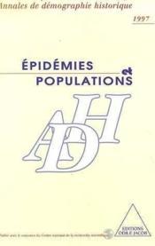 Epidemies Et Populations - Couverture - Format classique