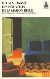 Des Nouvelles De La Maison Bleue - Couverture - Format classique