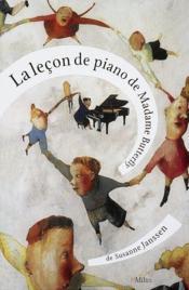 La lecon de piano de madame butterfly - Couverture - Format classique
