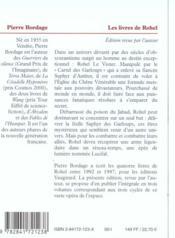 Rohel t.2 ; le cycle de Lucifal - 4ème de couverture - Format classique