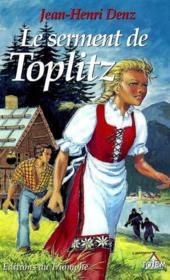 Le Serment De Toplitz - Couverture - Format classique