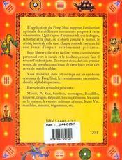Les Symboles Pour Le Feng Shui Oriental - 4ème de couverture - Format classique