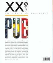Xxe Siècle Pub. Un Siècle De Publicité - 4ème de couverture - Format classique