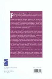Manuel Scierie: Economie, Gestion, Organisation. Pole Bois Siage Emballage 2003 - 4ème de couverture - Format classique