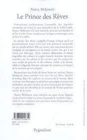 Le Prince Des Reves - 4ème de couverture - Format classique