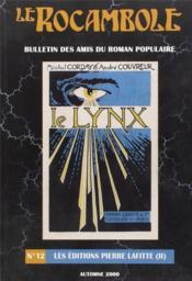 REVUE ROCAMBOLE N.12 ; les éditions Pierre Lafitte (II) - Couverture - Format classique