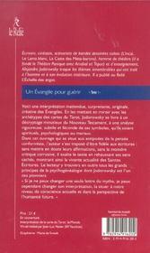 Les evangiles pour guerir t.1 - 4ème de couverture - Format classique