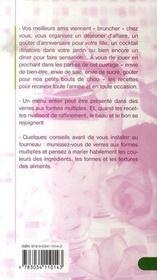 Verrines salées et sucrées - 4ème de couverture - Format classique