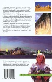 Australie, le meilleur choix pour les voyageurs - 4ème de couverture - Format classique