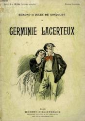 Germine Lacerteux. Collection Modern Bibliotheque. - Couverture - Format classique