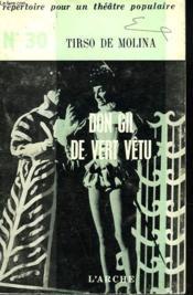 Don Gil De Vert Vetu - Couverture - Format classique