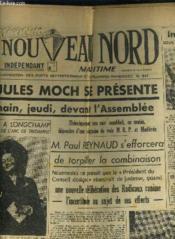Le Nouveau Nord Maritime N°911 - 5eme Annee - Jeudi 13 Octobre 1949. - Couverture - Format classique