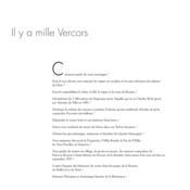 Vercors, images intimes - Couverture - Format classique
