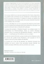 Electronique Conversion De Puissance 2e Annee Psi-Psi* Cours Et Exercices Corriges - 4ème de couverture - Format classique
