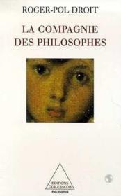 La compagnie des philosophes - Couverture - Format classique