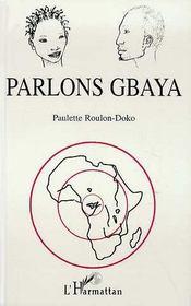 Parlons Gbaya - Intérieur - Format classique