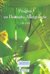 Progres En Dermato-Allergologie.Lille 2004 - Intérieur - Format classique
