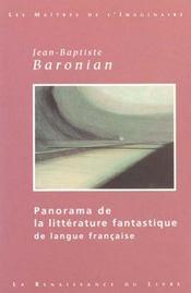 Panorama De La Litterature Fantastique De La Langue Francaise - Intérieur - Format classique