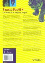 Passez A Mac Os X Edition Tiger - 4ème de couverture - Format classique