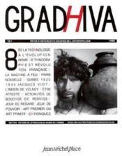 Cahier De Gradhiva N.8 - Couverture - Format classique