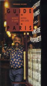Guide Des Bistrots De Paris - Couverture - Format classique