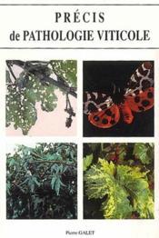 Précis de pathologie viticole - Couverture - Format classique