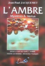 Ambre Mysteres Et Vertus - Couverture - Format classique